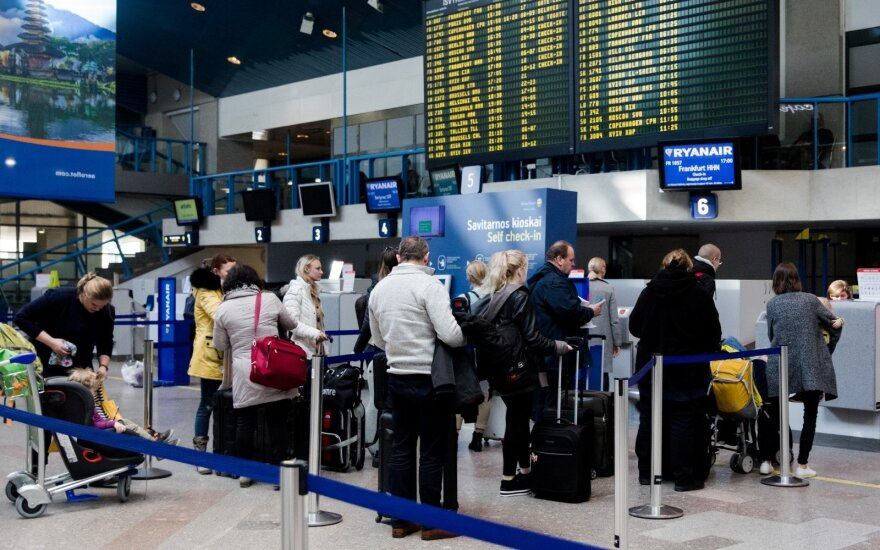 Vilnius Airport aims to cut check-in times