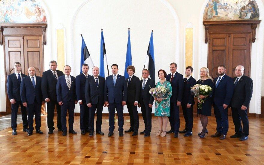 Naujoji Estijos vyriausybė