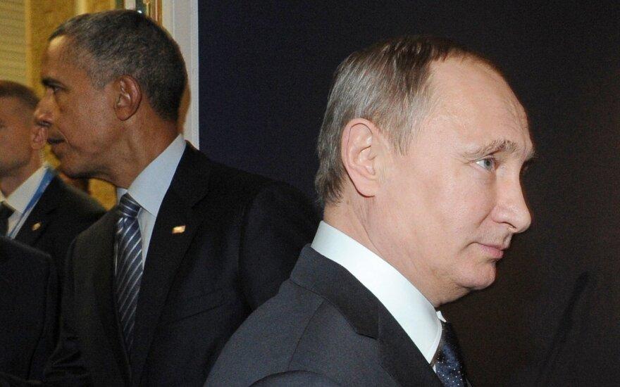 B. Obama turėjo dvi galimybes iki V. Putino: dabar jau vėlu