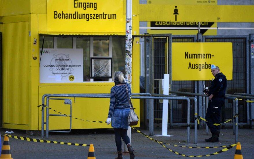 Vokietija ketina iki gegužės 3-osios pratęsti karantiną dėl COVID-19 pandemijos