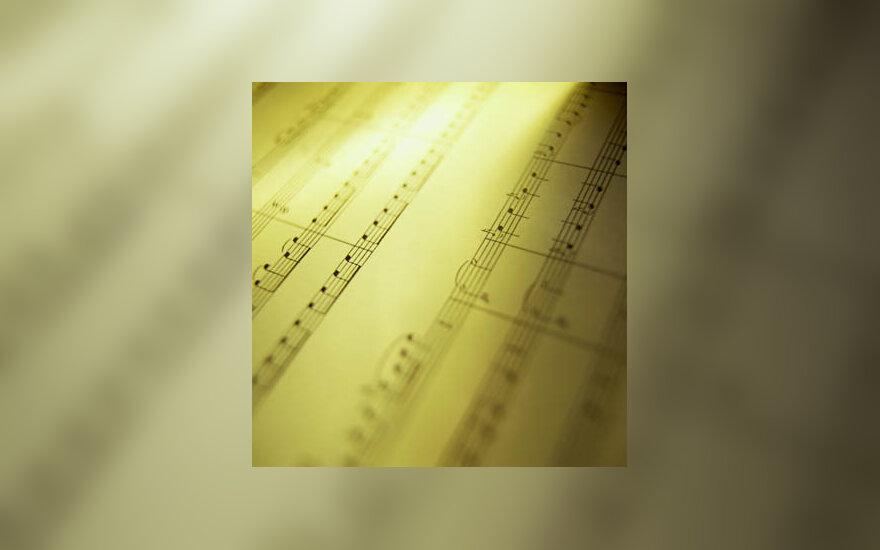 muzika, natos, groti