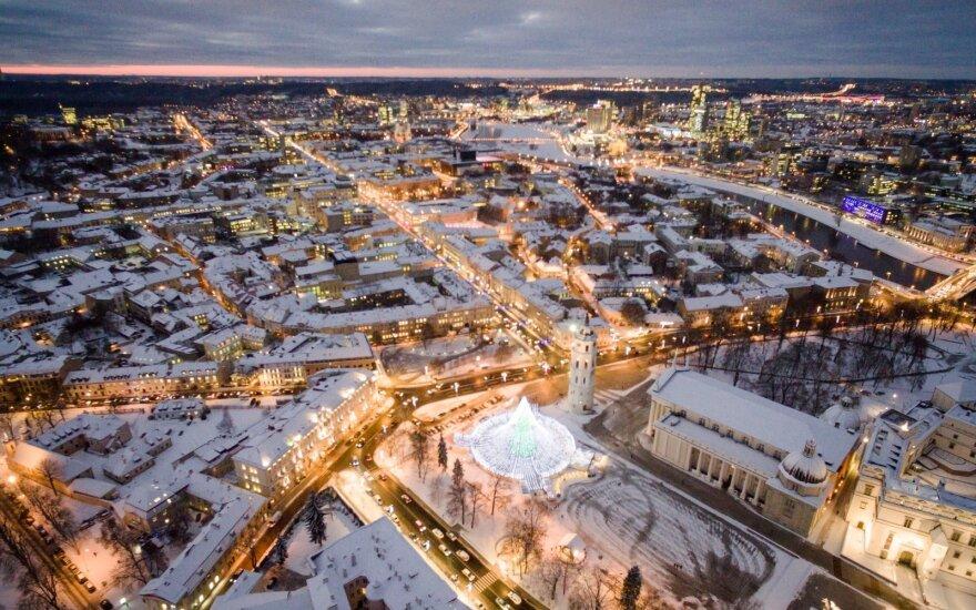 Vakarėjantis Vilnius