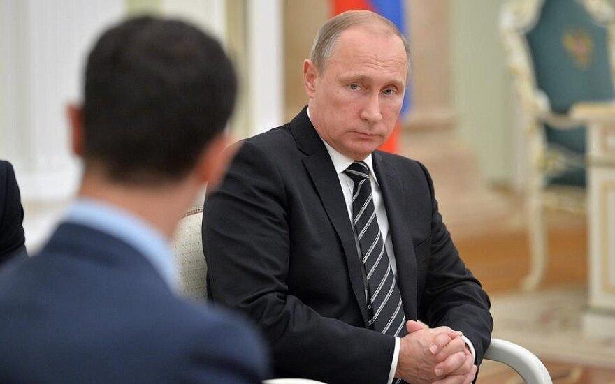 Bashar al Assad and Vladimir Putin, kremlin.ru photo