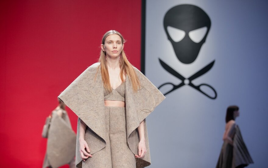 """At the the festival """"Mados infekcija"""" (the Fashion Infection)"""