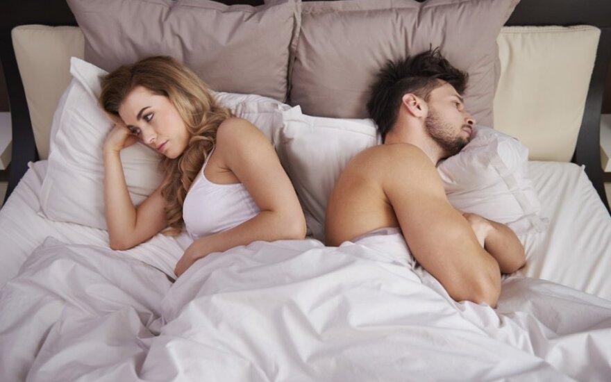 Santuoka be sekso: kur dingo vyro geismas?