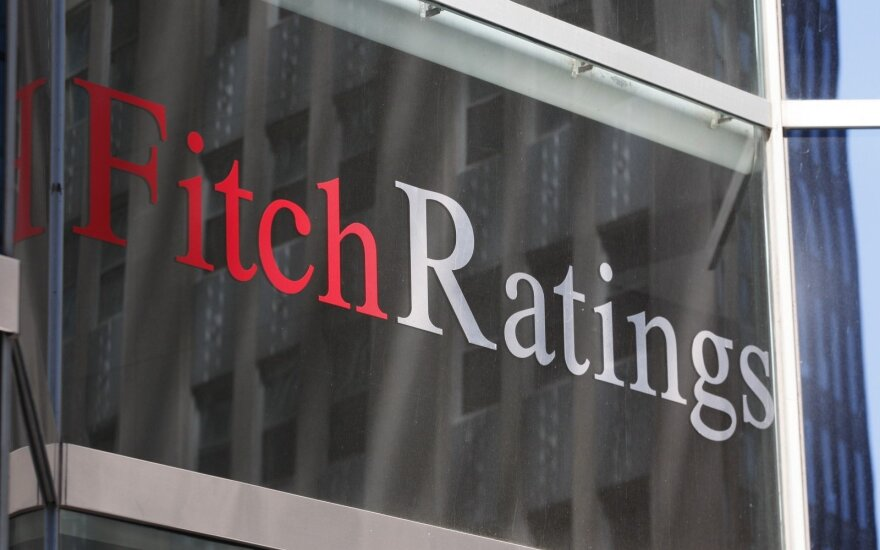 "Fitch Ratings upgraded Lithuania's credit rating outlook to ""Positive"""