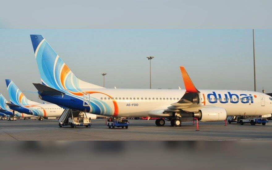 """Incidentas Irane: nutupdytas """"Fly Dubai"""" lėktuvas"""