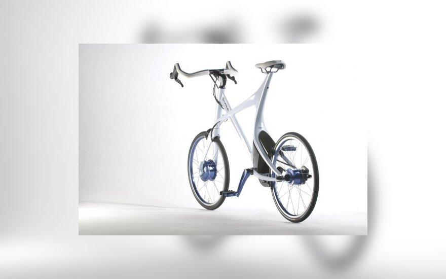 """Hibridinis """"Lexus"""" dviratis"""
