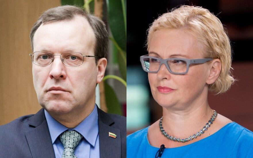 Naglis Puteikis, Rūta Janutienė