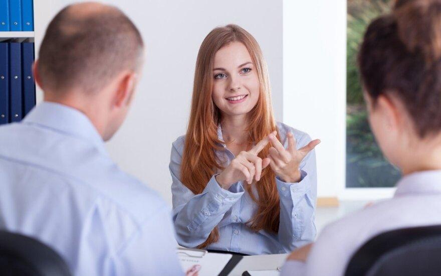 Kaip ištaisyti padėtį, paprašius per didelės algos darbo pokalbyje?