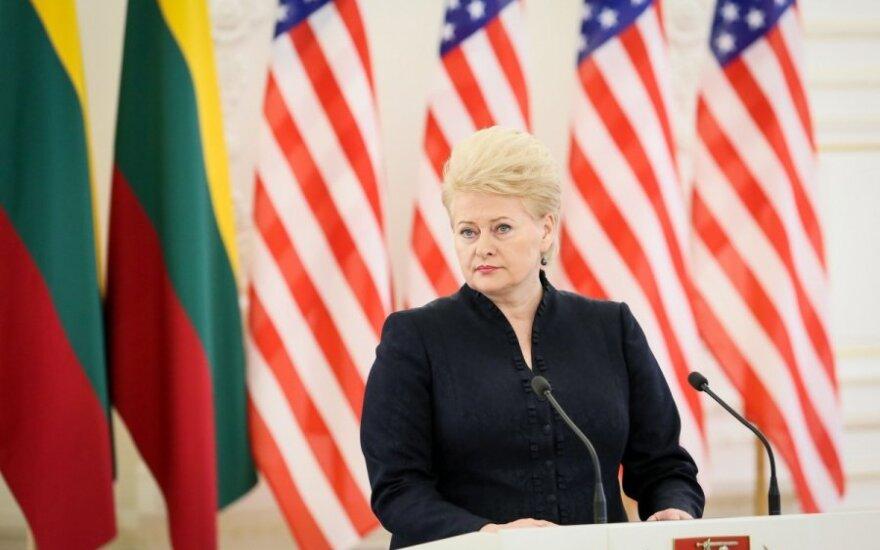 D. Grybauskaitė apie sankcijas Rusijai: tai atsisuks prieš mus ir nieko nebus pasiekta