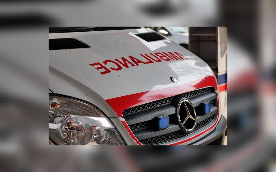 Avarijoje Alytuje sužalotas 19-metis motociklo vairuotojas