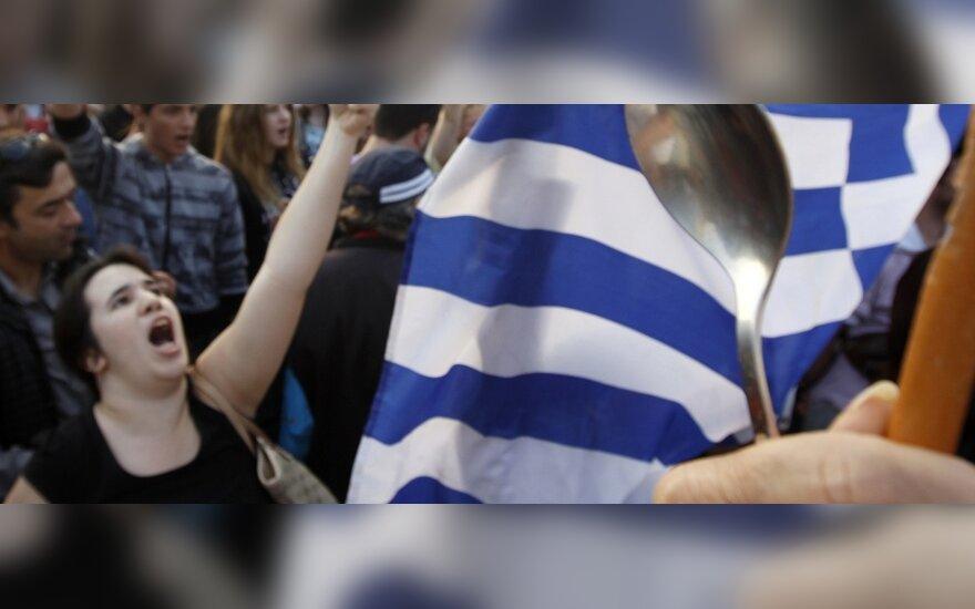 Graikijos biudžeto deficitas dukart didesnis nei prognozuota