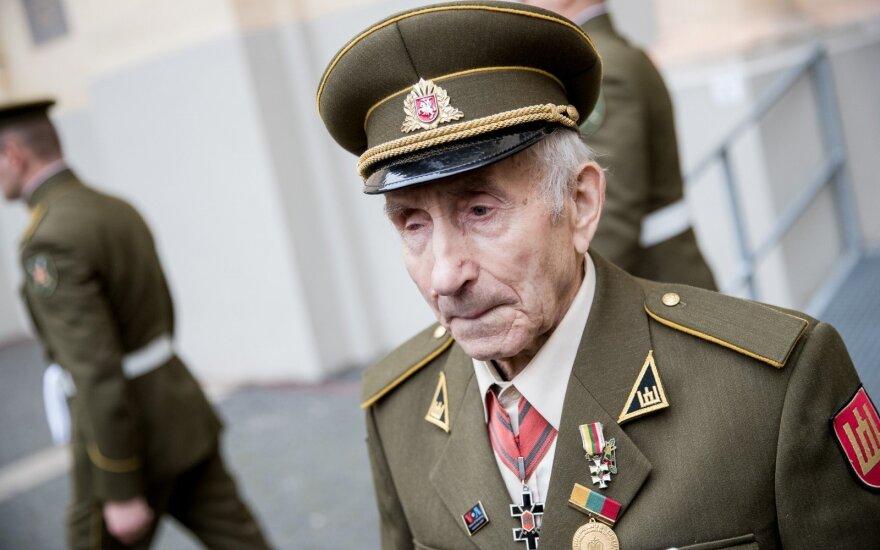 Laisvės premiją siūloma skirti septyniems buvusiems partizanams