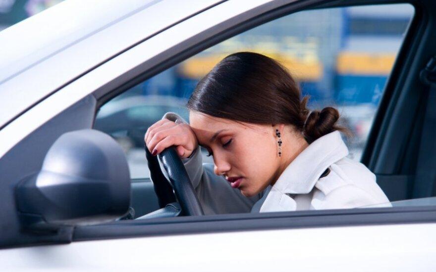 Miegas prie vairo