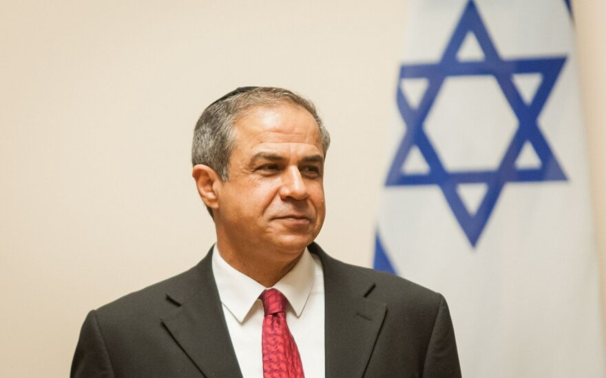 Israeli ambassador Amiras Maimonas