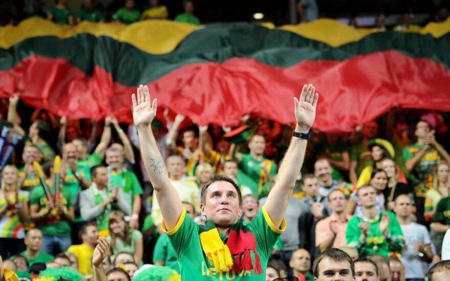 Lietuvos meilė krepšiniui sužavėjo JAV dienraščio žurnalistą