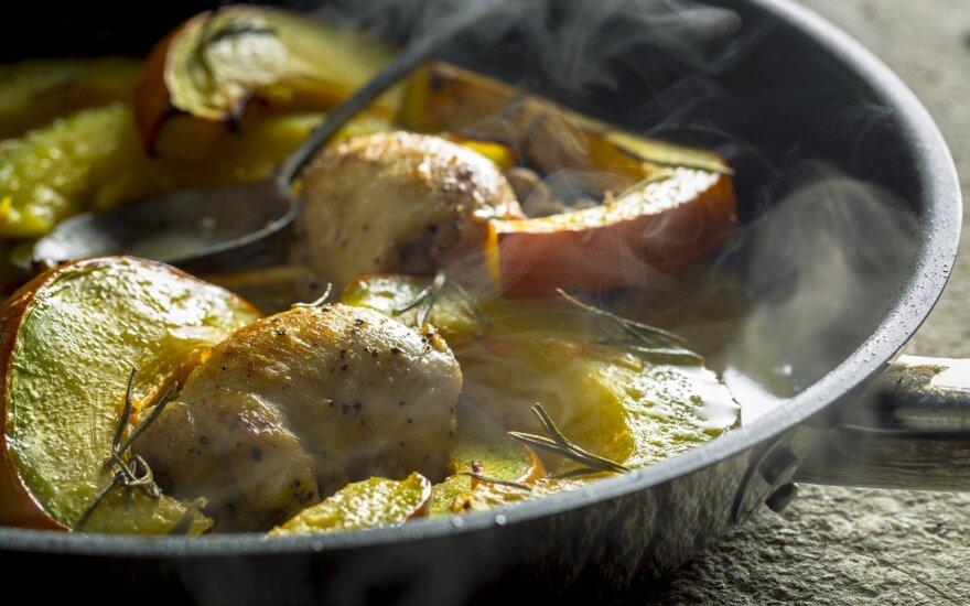 Gian Luca Demarco pasiūlymas savaitgalio pietums: vištienos suktinukai su moliūgo garnyru