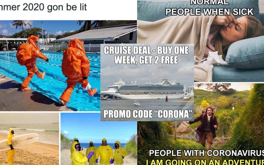 Memai apie koronavirusą