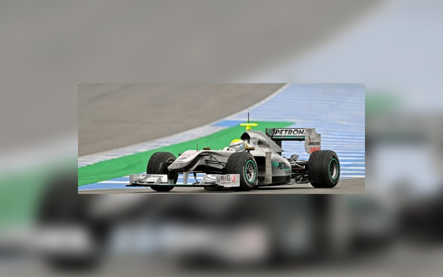 "Nico Rosbergas (""Mercedes"")"