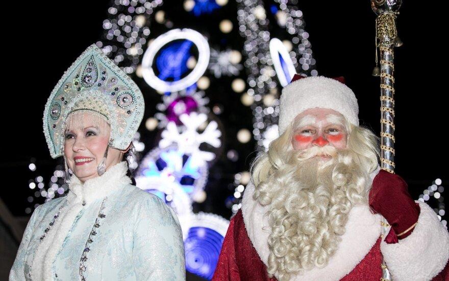 Период зимних праздников в Вильнюсе завершает православное Рождество