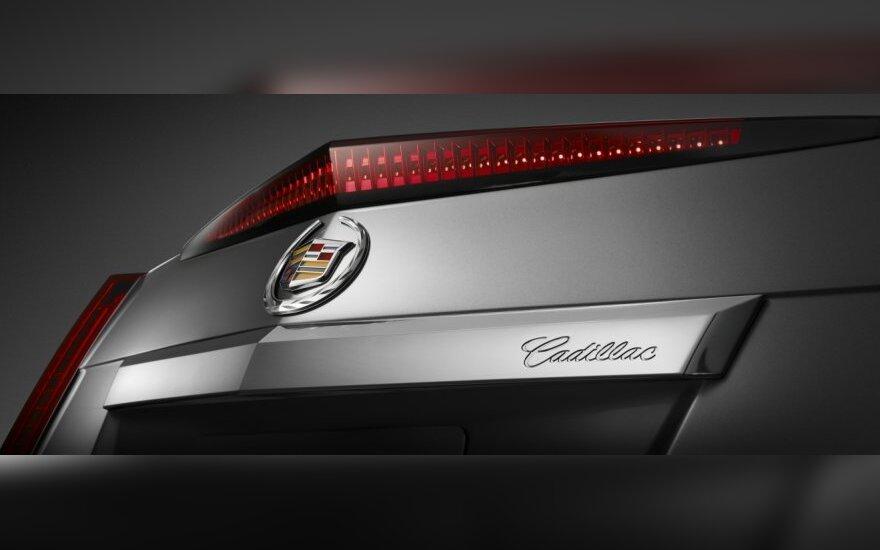 """General Motors"" atšaukia 44 tūkst. ""Cadillac CTS"""