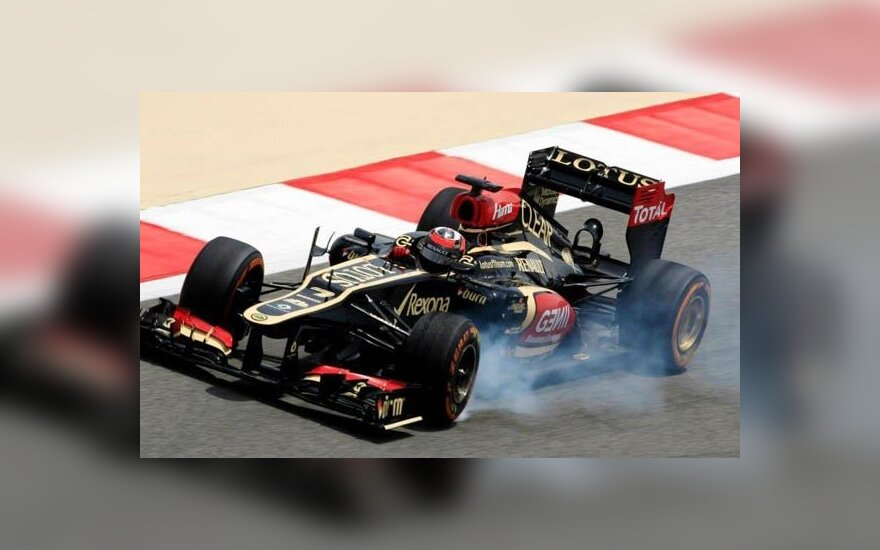 "Formulės-1 ""Lotus"" automobilis"