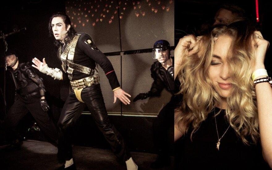 Michaelo Jacksono antrininko pasirodymas klube