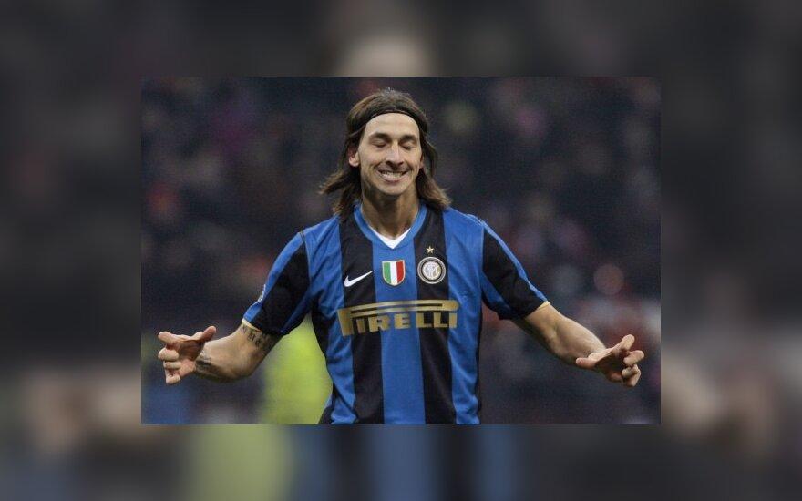 """Zlatanas Ibrahimovičius (""""Inter"""")"""