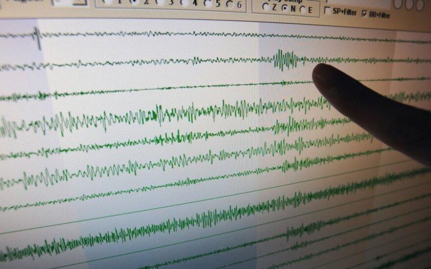 Kinijos Sindziango regioną sukrėtė 6,8 balo žemės drebėjimas