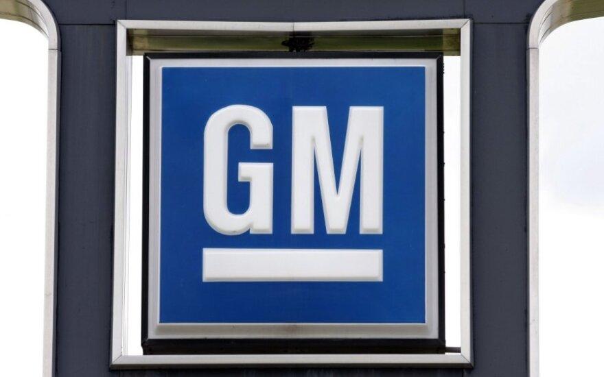 """""""General Motors"""" ruošia Europoje 500 mln. eurų investicijas"""