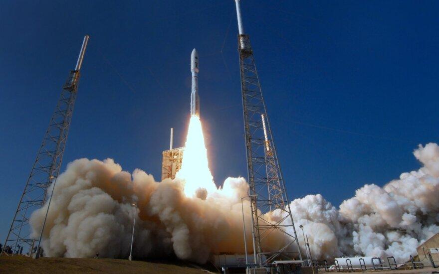 JAV kosminės pajėgos atliko savo pirmąją misiją