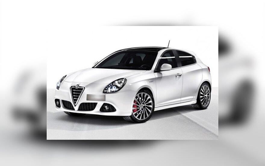 "Būsima ""Alfa Romeo 147"" pamaina"