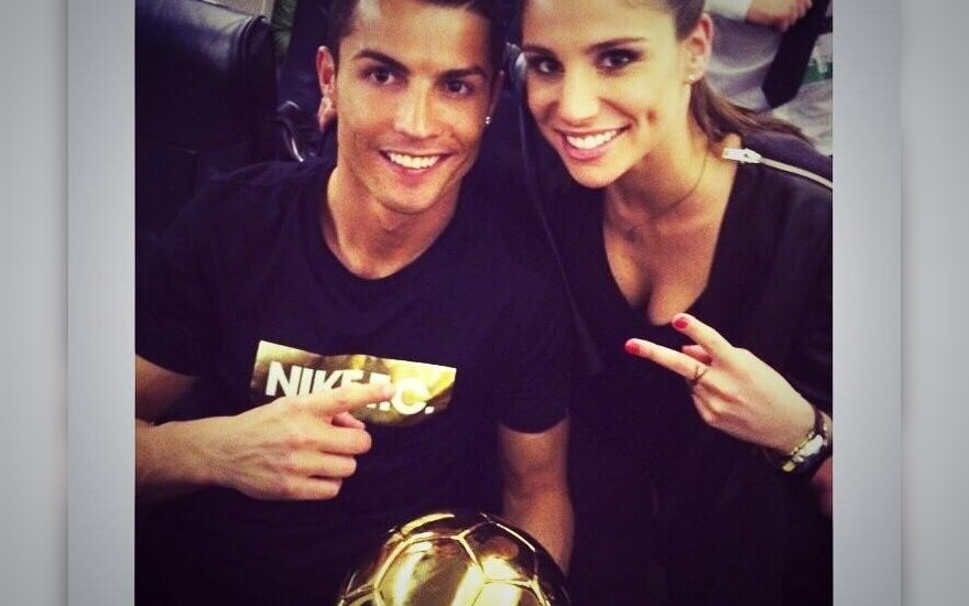 Cristiano Ronaldo ir Lucia Villalon