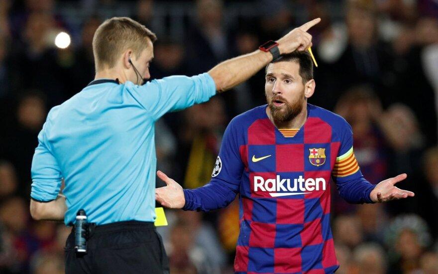 """UEFA Čempionų lyga: """"Barca"""" jau kitame etape, """"Liverpool"""" – dar ne"""
