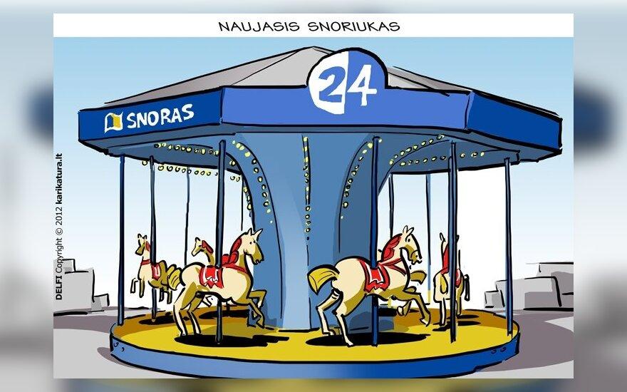 """Bankrutuojantis """"Snoras"""" atleido 142 darbuotojus"""