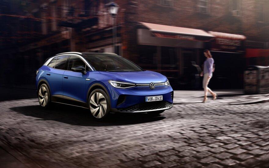"""""""Volkswagen"""" pristatė savo pirmąjį elektrinį visureigį – """"ID.4"""""""