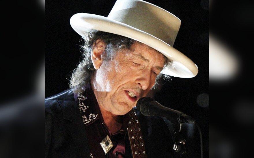 B.Dylanas surengė savo paveikslų parodą