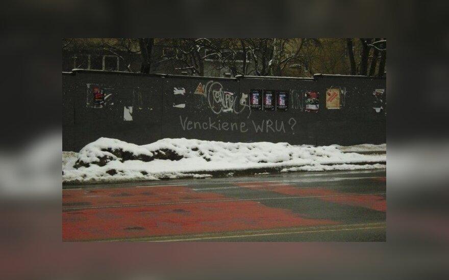 Grafičių piešėjai pokštuoja apie N. Venckienės dingimą