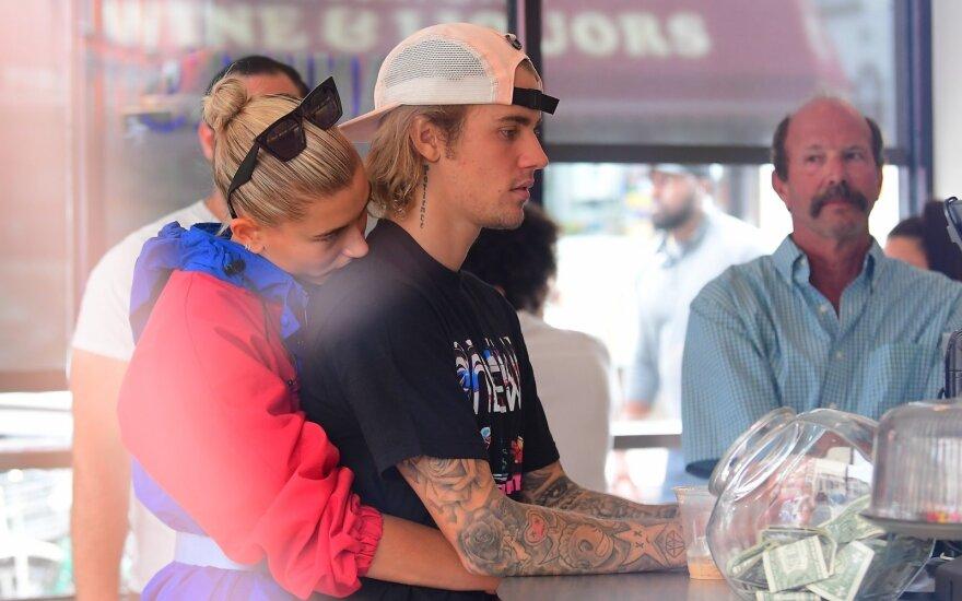 Hailey Baldwin ir Justinas Bieberis