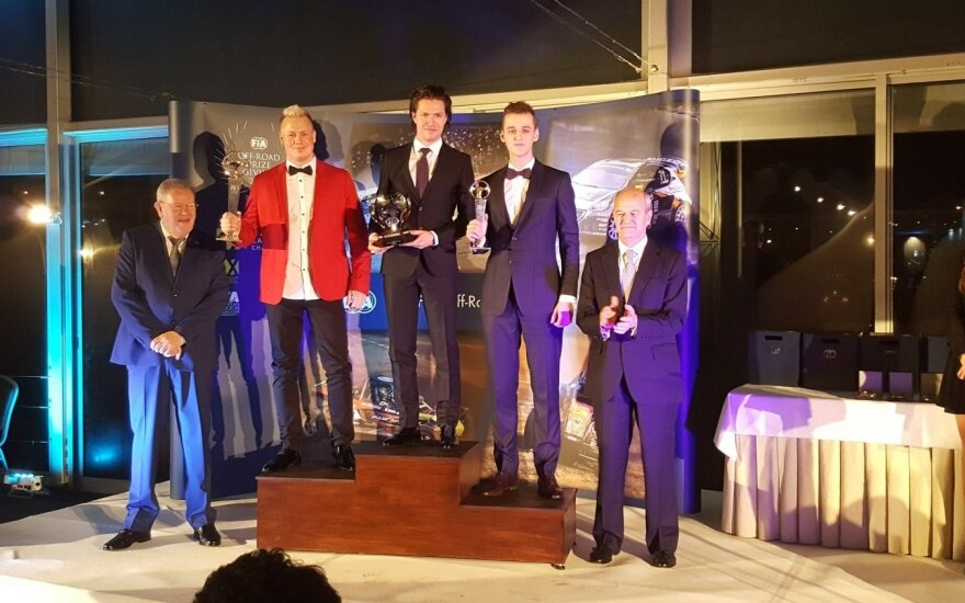 Kasparas Navickas apdovanotas Portugalijoje