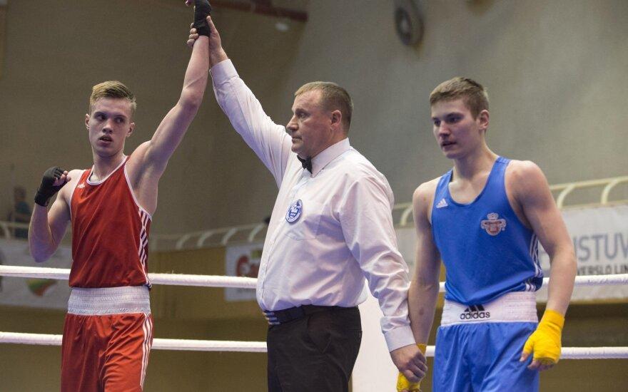 D. Pozniako turnyre medalius užsitikrino devyni Lietuvos boksininkai