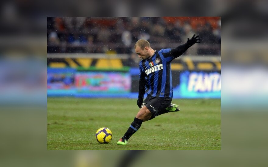 "Wesley Sneijderis (""Inter"")"