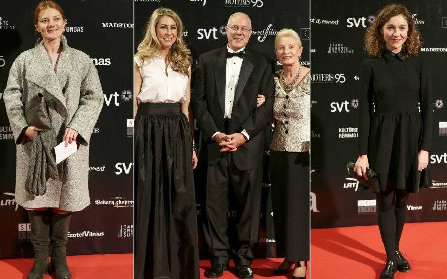 Rasa Samuolytė, Giedrė Žickytė, Tatjana Luckienė-Aldag su vyru, Aistė Diržiūtė