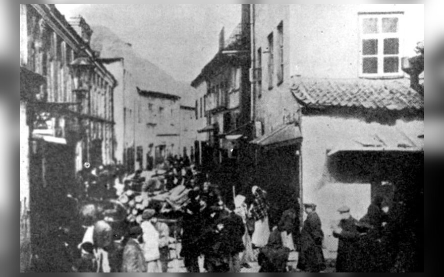 Vilna Ghetto. Yad Vashem Photo Archives