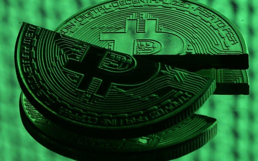 Bitkoino kursas perkopė 6,5 tūkst. JAV dolerių kartelę