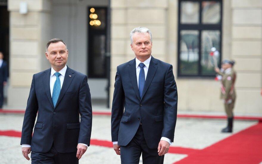 Lenkijos prezidentas Duda Vilniuje lankysis ketvirtadienį ir penktadienį