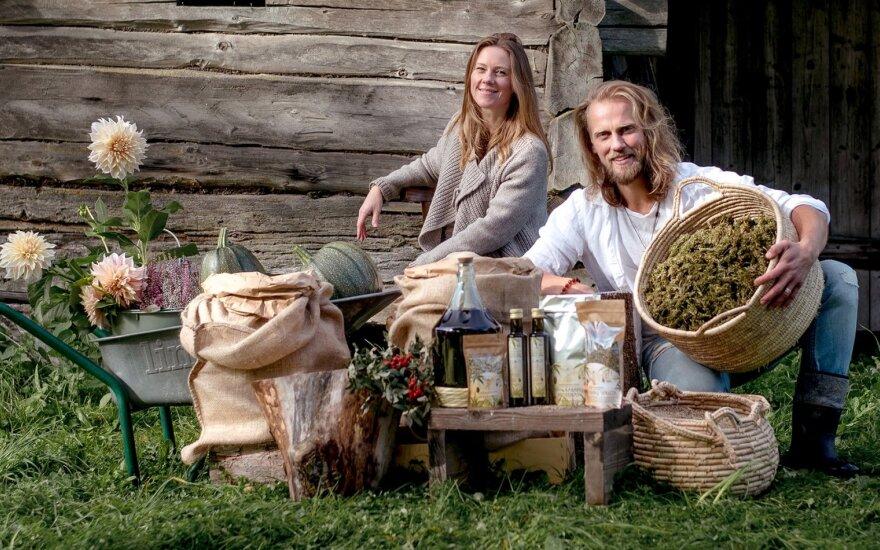Kanapių ūkį įkūrusi pora: tai nepelnytai užmirštas ir sveikatai, maistui, tekstilei labai naudingas Lietuvos augalas