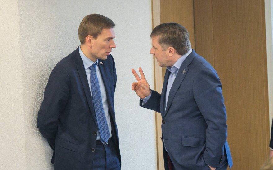 Mindaugas Puidokas, Ramūnas Karbauskis