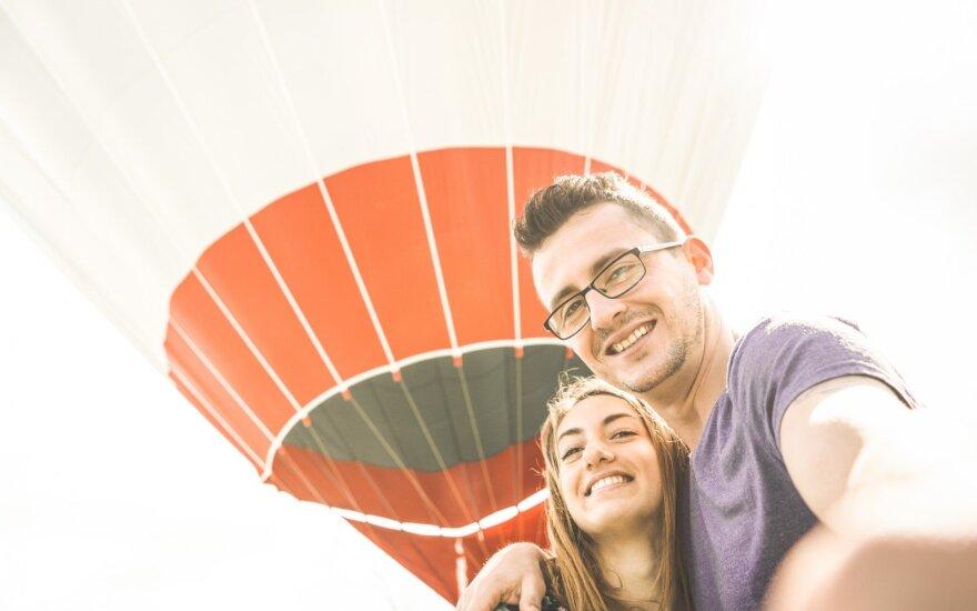 """Konkursas porai! """"Mūsų pažinties istorija"""": pagrindinis prizas – skrydis oro balionu"""